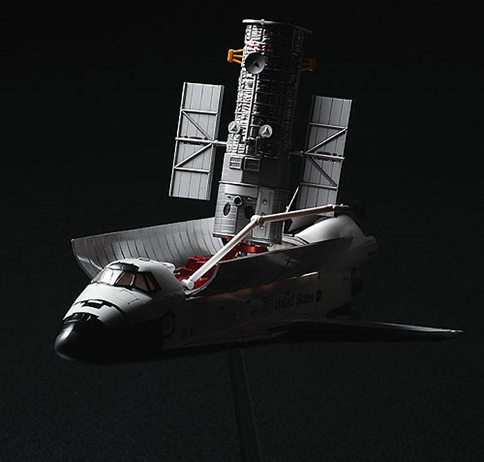スペースシャトル & ハッブル宇宙望遠鏡プラモデル(ハセガワ1/200 飛行機 限定生産No.10676)商品画像_3
