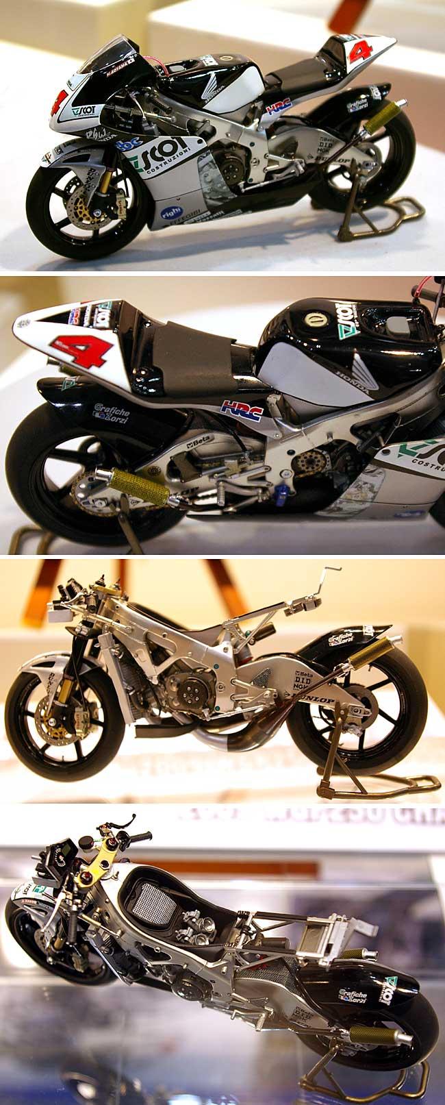 スコット レーシングチーム ホンダ RS250RW 2009 WGP チャンピオンプラモデル(ハセガワ1/12 バイクシリーズNo.BK-001)商品画像_3