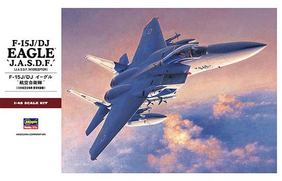 F-15J/DJ イーグル 航空自衛隊プラモデル(ハセガワ1/48 飛行機 PTシリーズNo.PT051)商品画像