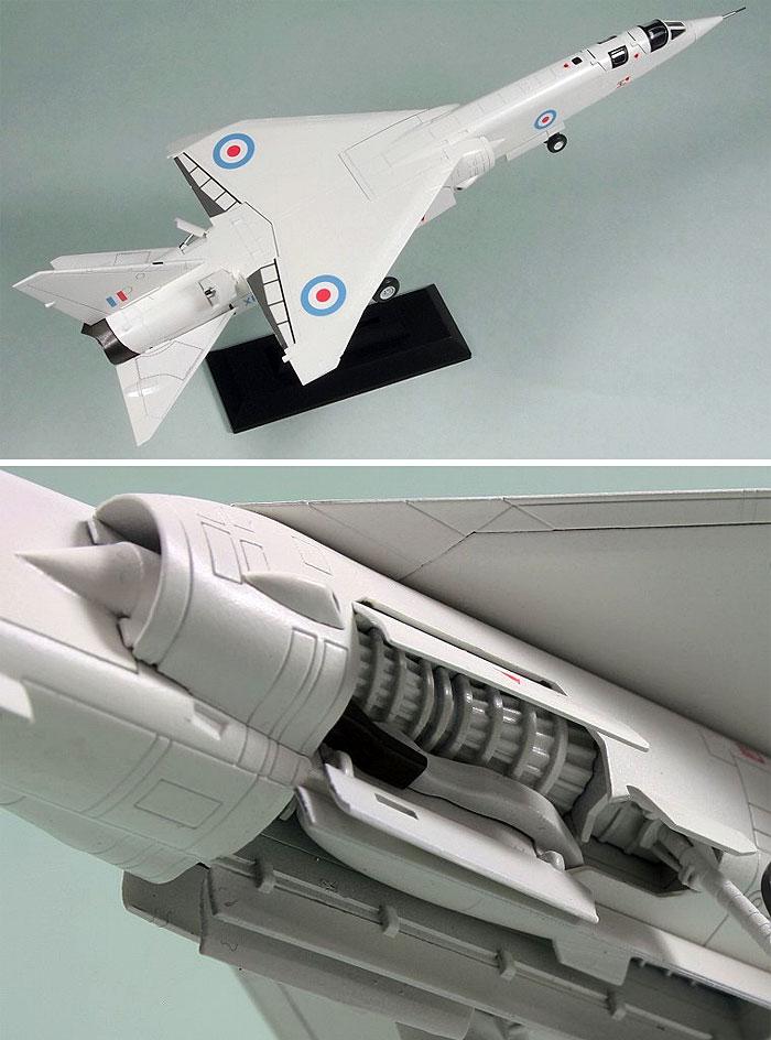 イギリス空軍 試作爆撃機 TSR.2プラモデル(ピットロードSN 航空機 プラモデルNo.SN006)商品画像_2
