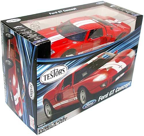 フォード GT コンセプトプラモデル(テスターシルバー シリーズ (METAL MODEL KIT)No.640012)商品画像