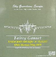 ウイッティ・ウイングス1/72 スカイ ガーディアン シリーズ (レシプロ機)フェアリー ガネット イギリス海軍 849SQ XA454