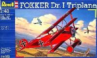レベル1/48 飛行機モデルフォッカー Dr.1 三葉機