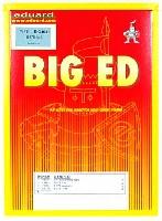 エデュアルド1/48 BIG ED (AIR)B-57B キャンベラ用 エッチングパーツセット (エアフィックス対応)