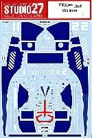 スタジオ27F-1 オリジナルデカールブラバム BT46