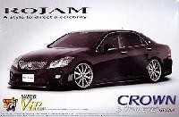 アオシマ1/24 スーパー VIP カーロジャム IRT 200 クラウン アスリート