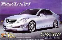 アオシマ1/24 スーパー VIP カーロジャム IRT 200 クラウン ロイヤルサルーン