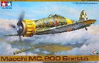 タミヤ1/48 飛行機 スケール限定品マッキ MC200 サエッタ