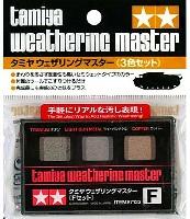タミヤメイクアップ材タミヤ ウェザリングマスター Fセット (金属色)