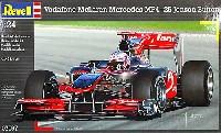 レベル1/24 F1モデルボーダフォン マクラーレン メルセデス MP4-25 (ジェイソン・バトン)