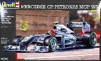 レベル1/24 F1モデルメルセデス GP ペトローナス MGP W01