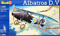レベル1/48 飛行機モデルアルバトロス D.V