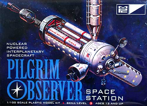 ピルグリム・オブザーバー 宇宙ステーションプラモデル(MPCプラスチックモデルキットNo.MPC713)商品画像