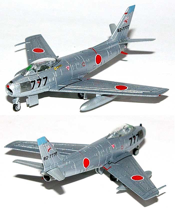 F-86F-40 セイバー 航空自衛隊 第3航空団 第8飛行隊 三沢基地 1978年 (82-7777)完成品(ホーガンウイングスM-SERIESNo.7372)商品画像_1