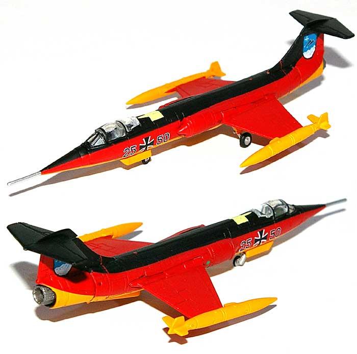 F-104G スターファイター ドイツ空軍 第34戦闘爆撃戦隊 25周年記念機完成品(ヘルパherpa Wings (ヘルパ ウイングス)No.553872)商品画像_1