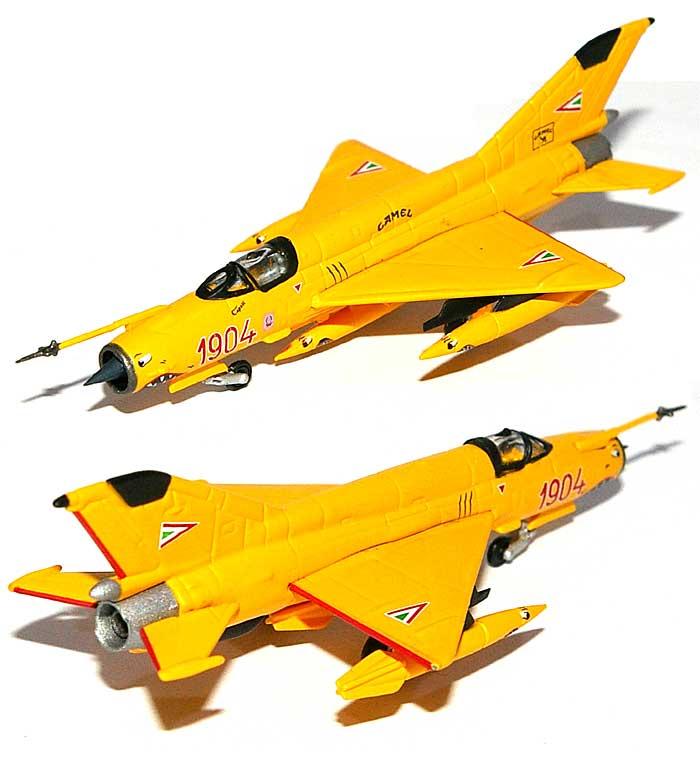 MiG-21bis ハンガリー空軍 アクロバットチーム Sky Hussars完成品(ヘルパherpa Wings (ヘルパ ウイングス)No.553889)商品画像_1