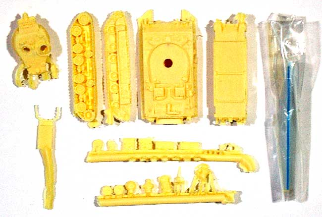 IDF M50 スーパーシャーマンレジン(マツオカステン1/144 オリジナルレジンキャストキット (AFV)No.MTUAFV-043)商品画像_1