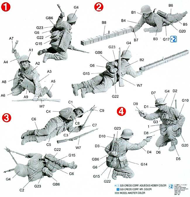ドイツ 山岳戦闘工兵 ギリシャ戦線 1941プラモデル(ドラゴン1/35 39-45 SeriesNo.6538)商品画像_2