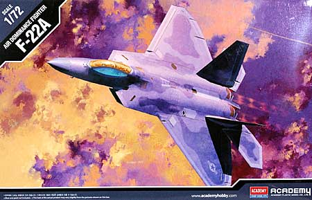USAF F-22A ラプター プラモデル (アカデミー 1/72 Scale Aircrafts No.12423) 商品画像
