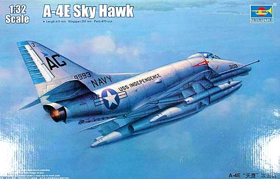 A-4E スカイホークプラモデル(トランペッター1/32 エアクラフトシリーズNo.02266)商品画像