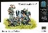 ドイツ兵士 搾乳シーン (歩兵4体+乳牛2頭 & ヤギ1頭)
