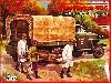 ロシア スチュードベイカー US6 トラック w/ソビエト看護兵