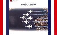 F-16C アメリカ空軍 サンダーバーズ 2009年ツアー (6機セット)