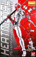 バンダイマスターグレード フィギュアライズ (MG FIGURERISE)仮面ライダー W ヒートメタル