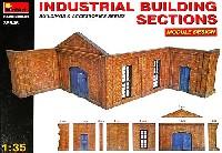 ミニアート1/35 ビルディング&アクセサリー シリーズ工場の壁 (モジュール デザイン)