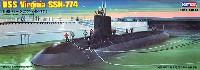 ホビーボス1/350 艦船モデルUSS バージニア SSN-774