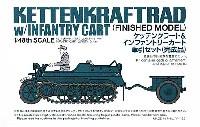 タミヤ1/48 ミリタリーミニチュアコレクションケッテンクラート & インファントリーカート 牽引セット (完成品)