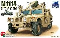 アメリカ M1114 ハンビー装甲武装戦闘車両