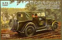 ポーランド フィアット 508/3 小型乗用車 (初期型)