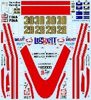 タブデザイン1/20 デカールマクラーレン M23 チェスターフィールド 1978