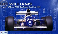 フジミ1/20 GPシリーズ SP (スポット)ウィリアムズ FW16 1994年 サンマリノGP (専用塗料付き)