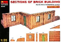 ミニアート1/35 ビルディング&アクセサリー シリーズレンガの建物 (モジュール デザイン)