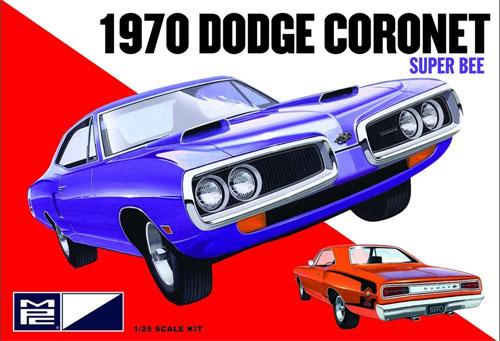 1970 ダッジ コロネット スーパービープラモデル(MPC1/25 カーモデルNo.MPC869/12)商品画像