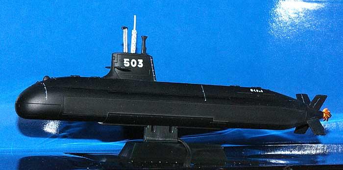 海上自衛隊潜水艦 SS-503 はくりゅう完成品(ピットロード塗装済完成品モデルNo.CPM-010)商品画像_2