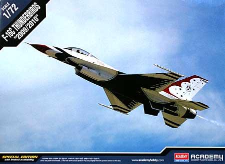 F-16C ファイティングファルコン サンダーバーズ 2009/2010プラモデル(アカデミー1/72 Scale AircraftsNo.12429)商品画像