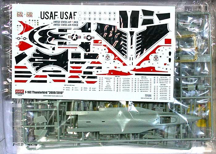 F-16C ファイティングファルコン サンダーバーズ 2009/2010プラモデル(アカデミー1/72 Scale AircraftsNo.12429)商品画像_1