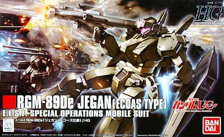 RGM-89De ジェガン (エコーズ仕様)プラモデル(バンダイHGUC (ハイグレードユニバーサルセンチュリー)No.123)商品画像