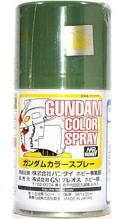 MSディープグリーンスプレー塗料(GSIクレオスガンダムカラースプレーNo.SG007)商品画像