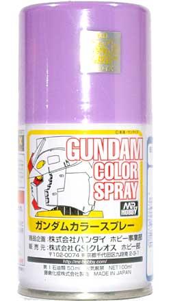 MSパープルスプレー塗料(GSIクレオスガンダムカラースプレーNo.SG008)商品画像