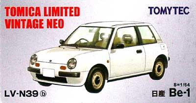 日産 Be-1 (白)ミニカー(トミーテックトミカリミテッド ヴィンテージ ネオNo.LV-N039b)商品画像