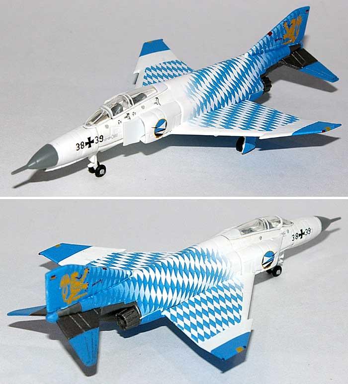 F-4F ファントム 2 ドイツ空軍 JG74 部隊創設40周年記念塗装完成品(ヘルパherpa Wings (ヘルパ ウイングス)No.554107)商品画像_1