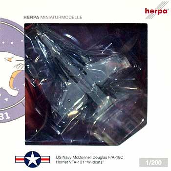 F/A-18C ホーネット VFA-131 ワイルドキャッツ完成品(ヘルパherpa Wings (ヘルパ ウイングス)No.554114)商品画像