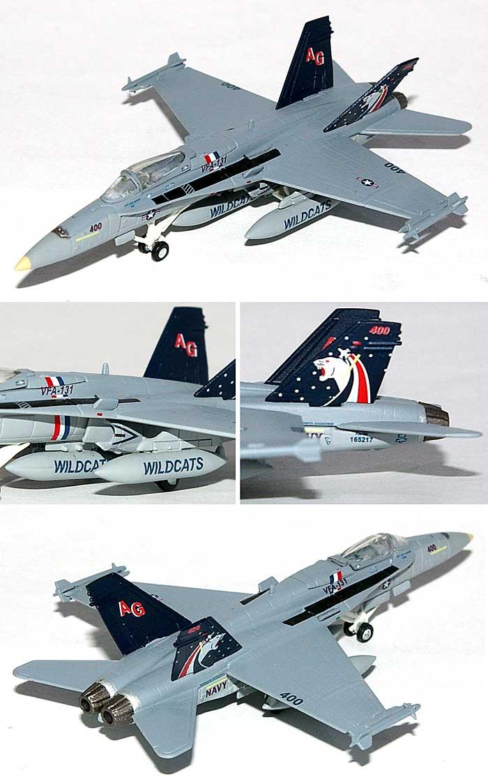F/A-18C ホーネット VFA-131 ワイルドキャッツ完成品(ヘルパherpa Wings (ヘルパ ウイングス)No.554114)商品画像_1