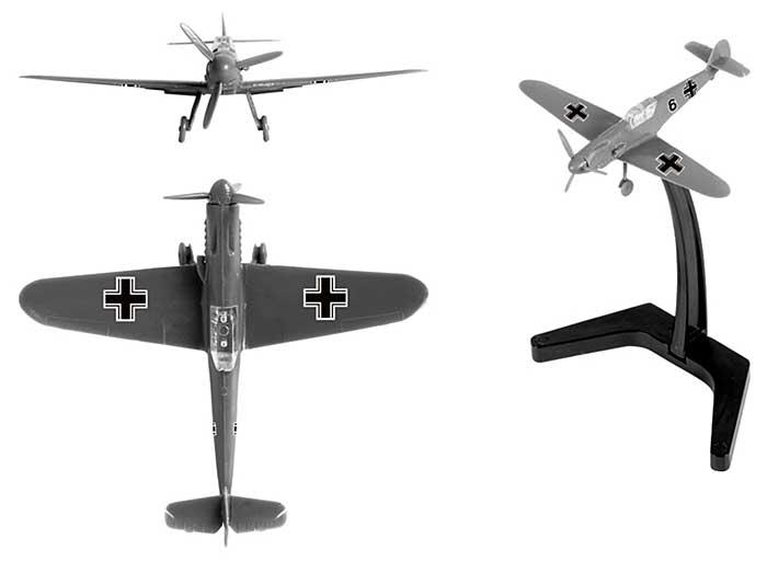 メッサーシュミット Bf109F-2プラモデル(ズベズダART OF TACTICNo.6116)商品画像_3