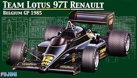 チーム ロータス 97T ルノー 1985年 ベルギーグランプリ仕様プラモデル(フジミ1/20 GPシリーズNo.旧GP025)商品画像