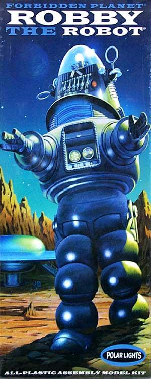 ロビー・ザ・ロボットプラモデル(ポーラライツプラスチックモデルキットNo.POL810)商品画像
